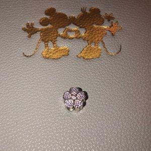 Authentic Pandora sparkling Primrose Charm